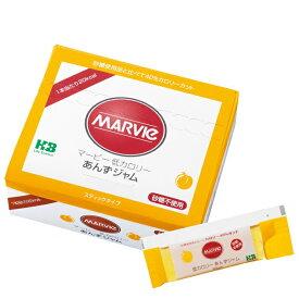 マービー 低カロリージャム あんずジャム スティック(箱タイプ)(13g×35本)【マービー カロリー 健康 あんず】
