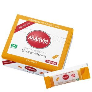 マービー 低カロリージャム ピーナッツクリーム スティック(10g×35本)砂糖不使用♪