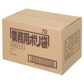 【日本サニパック】 △ポリゴミ袋 N−73 透明 70L 10枚 40組★ポイント10倍★