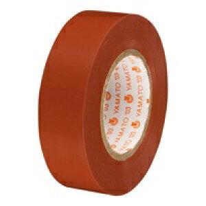 ヤマト ビニールテープ NO200-19 19mm*10m 茶 10巻