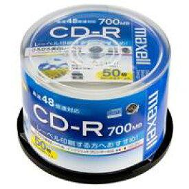 マクセル株式会社 CD−R 700MB CDR700S.WP.50SP 50枚★お得な10個パック