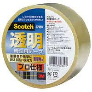 スリーエム ジャパン 透明梱包用テープ 375SN★お得な10個パック