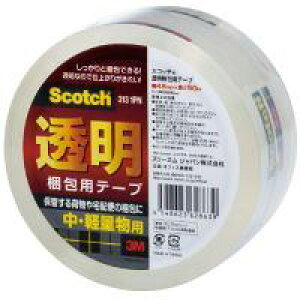 スリーエム ジャパン 透明梱包用テープ 313 1PN★お得な10個パック