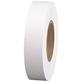 スマートバリュー 紙テープ5巻入 白 B322J-WH