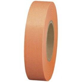 スマートバリュー 紙テープ5巻入 橙 B322J-OR★お得な10個パック