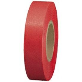 スマートバリュー 紙テープ5巻入 赤 B322J-RD★お得な10個パック