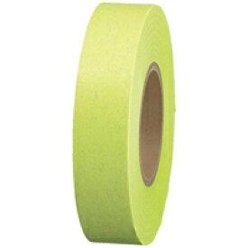 スマートバリュー 紙テープ5巻入 黄緑 B322J-YG★お得な10個パック