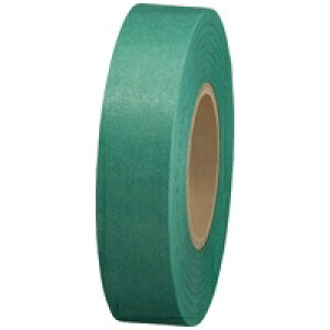 スマートバリュー 紙テープ5巻入 緑 B322J-GR