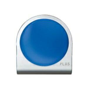 プラス カラーマグネットクリップ 小 ブルー