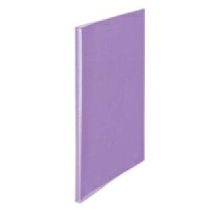 プラス シンプルクリアーファイル20P FC-220SC 紫★お得な10個パック
