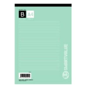スマートバリュー レポート用紙5冊パックA4B罫P008J-5P