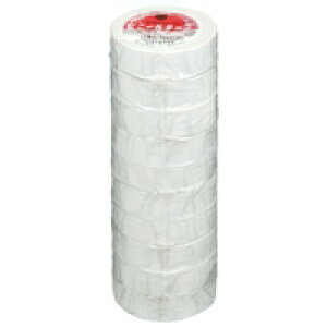 ヤマト ビニールテープNO200-1919mm*10m白10巻