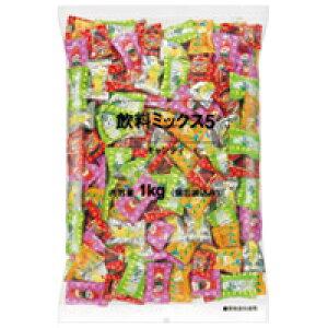 ロッテ ※飲料ミックス5キャンディー徳用1kg袋