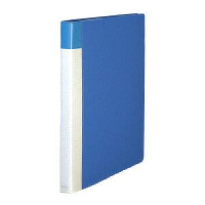 【コクヨ】 キャンパス ポストカードホルダー 替紙式 A4縦 縦入れ 30穴 100枚収容 青 ハセ-120B 入数:1 ★お得な10個パック★