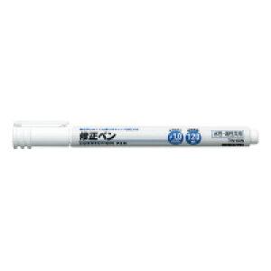 【コクヨ】 修正ペン<キャップ加圧方式> 水性油性共用 筆記距離120m TW-60N 入数:1 ★お得な10個パック★