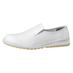 ミドリ安全ハイグリップ作業靴 白22.5cmH100Cシロ−225