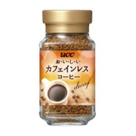 UCC 390117#おいしいカフェインレスコーヒー 本体 45g インスタントコーヒー入数:1