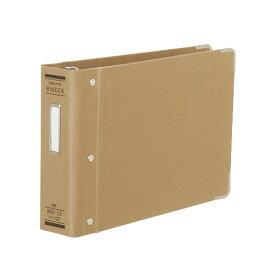 コクヨバインダーMP(布貼り) B6横 13穴 角金付 約200枚収容ハ−127 ★お得な10個パック