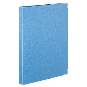 コクヨバインダーノート(カラーパレット) ミドルタイプ A4縦 30穴ライトブルール−155−5