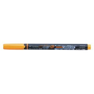 トンボ鉛筆 蛍光マーカー 蛍コート80 シングル 橙 太字角芯 WA−SC93 ★お得な10個パック