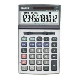 カシオ計算機 ジャスト型特大表示実務電卓 JS−200W−N JS−200W−N