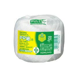 コクヨPP紐(玉巻き) 玉巻100m 白ホヒ−13NW ★お得な10個パック