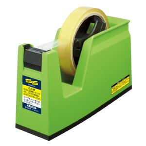 コクヨ テープカッター(カルカット) 大巻き・小巻きテープ両用 緑 T−SM100NG ★お得な10個パック
