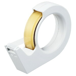 コクヨテープカッター(カルカット) ハンディタイプ大巻き 白T−SM200NW ★お得な10個パック