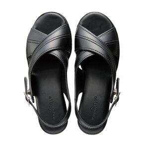 ニッポンスリッパオフィスサンダル 黒 M ●サイズ/外寸法:約22cm400924 ★お得な10個パック