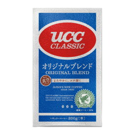 UCC #UCC クラシック オリジナルブレンド レギュラーコーヒー(真空パック)200g 350835 ★お得な10個パック