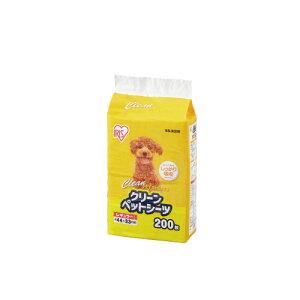 アイリスオーヤマ 1回使いきりペットシーツ レギュラー 1箱(200枚入り) ES−N200 ★お得な10個パック