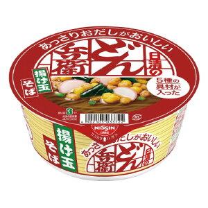 日清食品 #日清のあっさりおだしがおいしいどん兵衛 揚げ玉そば 12個 26284