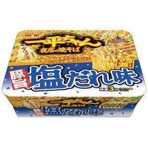 明星食品 #一平ちゃん夜店の焼きそば 塩だれ味 12個 437330