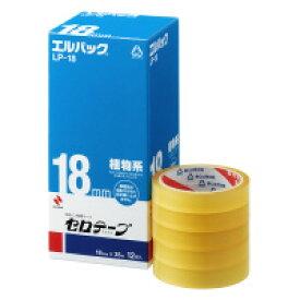 【ニチバン】 セロテープ<エルパック> 大巻 18mm×35m 1箱(12巻入) LP-18 入数:1 ★お得な10個パック★