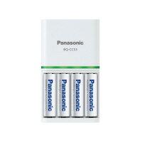 【Panasonic】 エネループ 充電器セット 単3形×4本付きK−KJ53MCC40 入数:1