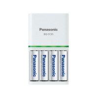 【Panasonic】 エネループ 急速充電器セット 単3形×4本付きK−KJ55MCC40 入数:1 ★ポイント5倍★