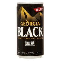 【コカ・コーラ】 ジョージア エメラルドマウンテンブレンド ブラック 185g×30缶43192 入数:1 ★お得な10個パック