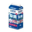 日本製紙クレシア 76990スコッティウェット除菌アルコール 詰替用 80枚入数:1