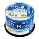 【日立マクセル】 CD−R 700MB 2−48倍速 50枚(スピンドルケース) IJP対応CDR700SWP50SP 入数:1
