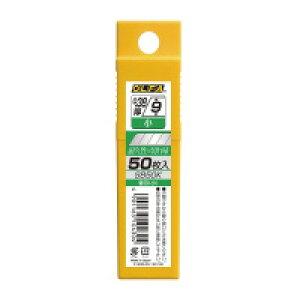 オルファ SB50Kカッターナイフ用替刃(小型用) 50枚プラケース入り入数:1
