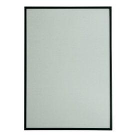 【大額】 スマートパネル(アルミ)A1 枠色ブラック 外寸859×612×8mm A1-ブラツク 入数:1