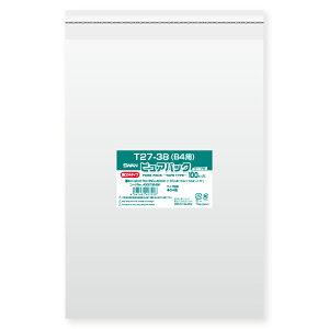 SWAN OPP袋 ピュアパック T27-38(B4用) (テープ付き) 厚口04 100枚