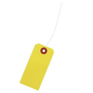 荷札 中 42×90 黄