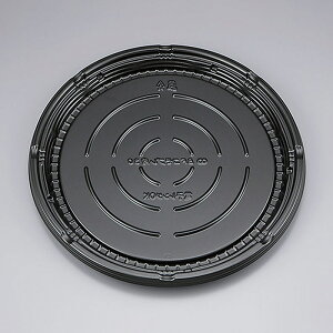 シーピー化成 ピザ容器 BFコモプレ内30 本体 10インチ 黒 20枚
