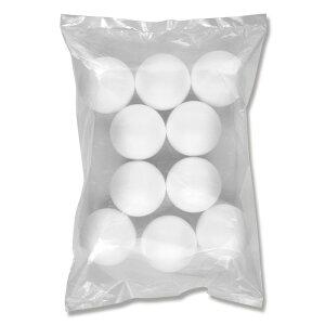 発泡スチロール 素ボール 直径70mm 10個入