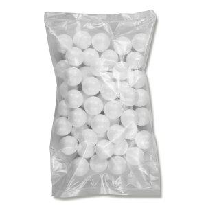 発泡スチロール 素ボール 直径25mm 50個入