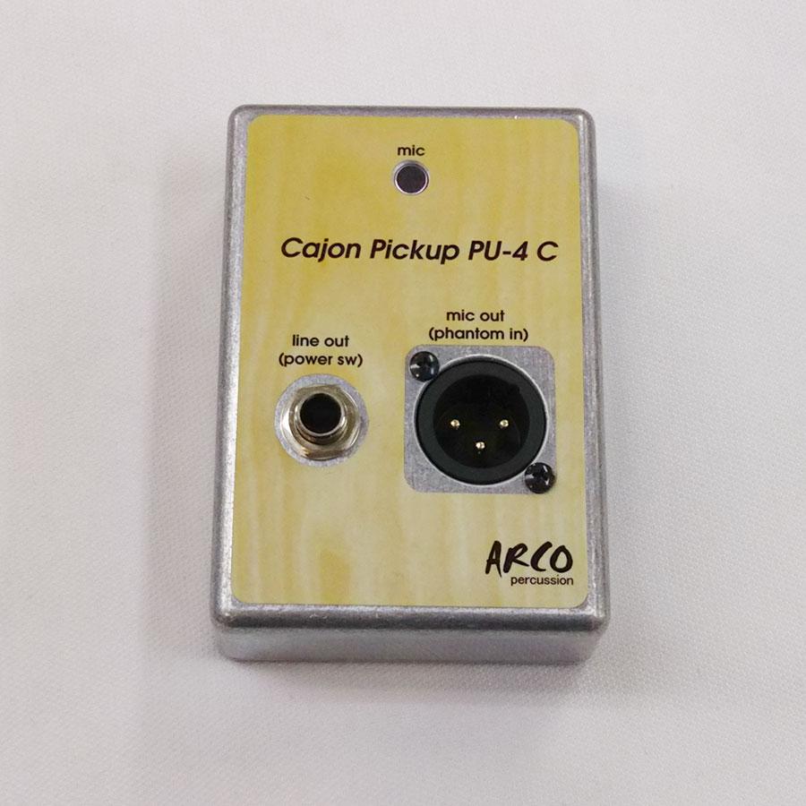【ライブ・レコーディングに最適な据え置き型カホン用ピックアップマイク】 PU-4C