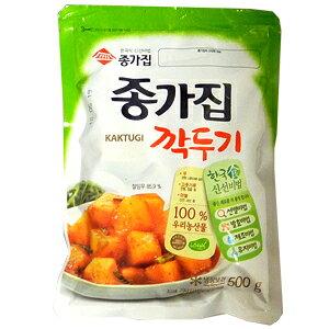 【韓国食品】【本場キムチ】宗家カクテキー500g【韓国キムチ】
