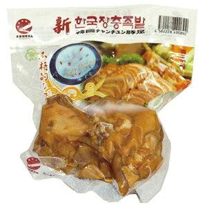 【韓国食材】【韓国風味】味付け豚足ー双(かたまり2個)【燻製品】