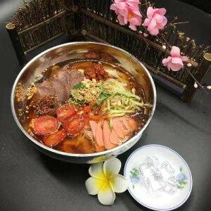 【韓国冷麺】一力物産生冷麺(白)-165g【韓国食品】【水冷麺】